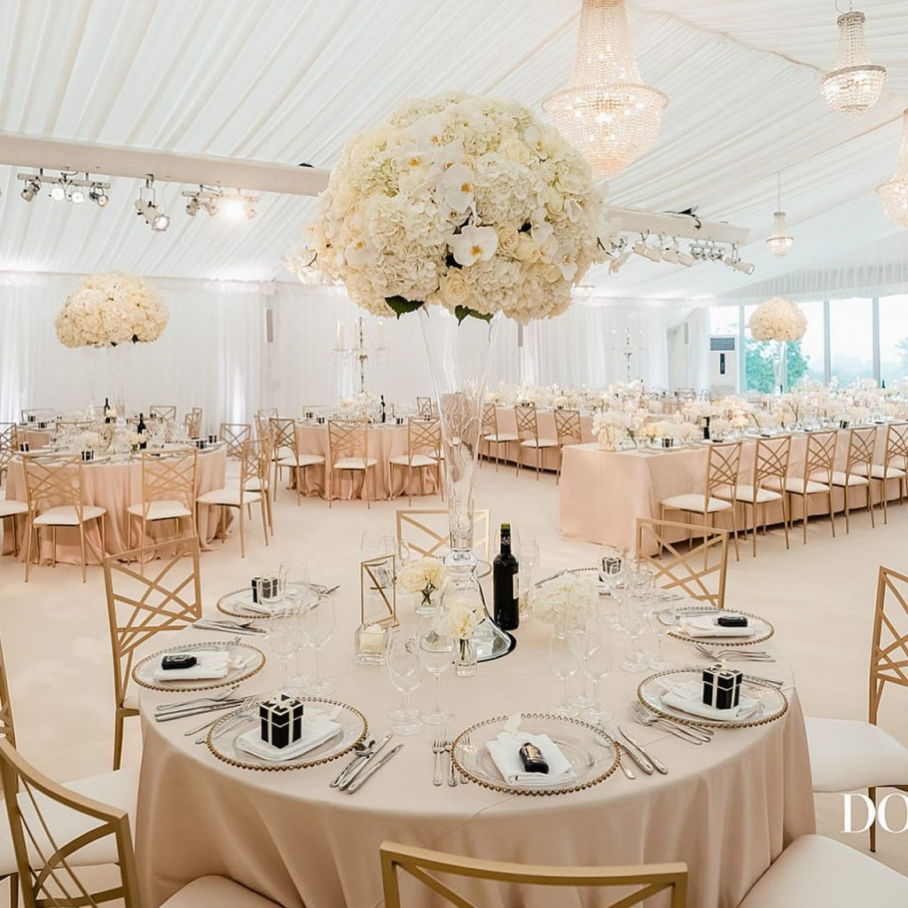 White Wedding and Event Company - Supplier Guest List Belle Bridal Magazine - image by Dominic Wright Photography