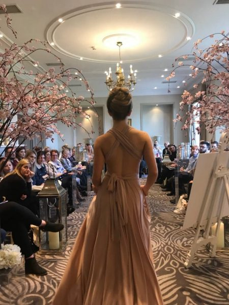 Catwalk Image from Wedding Show