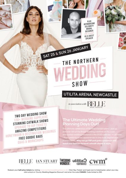 The Northern Wedding Show Flyer