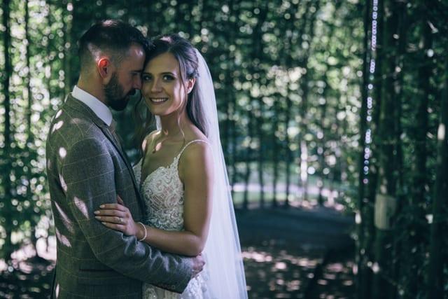 Alnwick Garden Real Wedding Beth Adam
