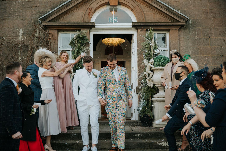 Shotton Grange - Belle Bridal Venue Guest List - Sean Elliott Photography