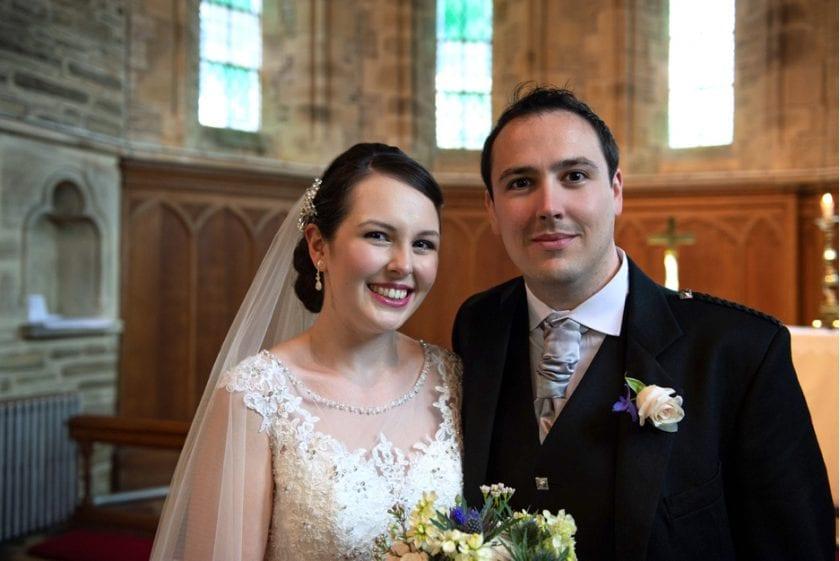 Beamish Hall Real Wedding Danielle Craig