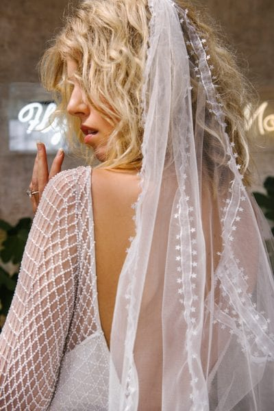 Belle Bridal Photoshoot Middleton Lodge Celestial She