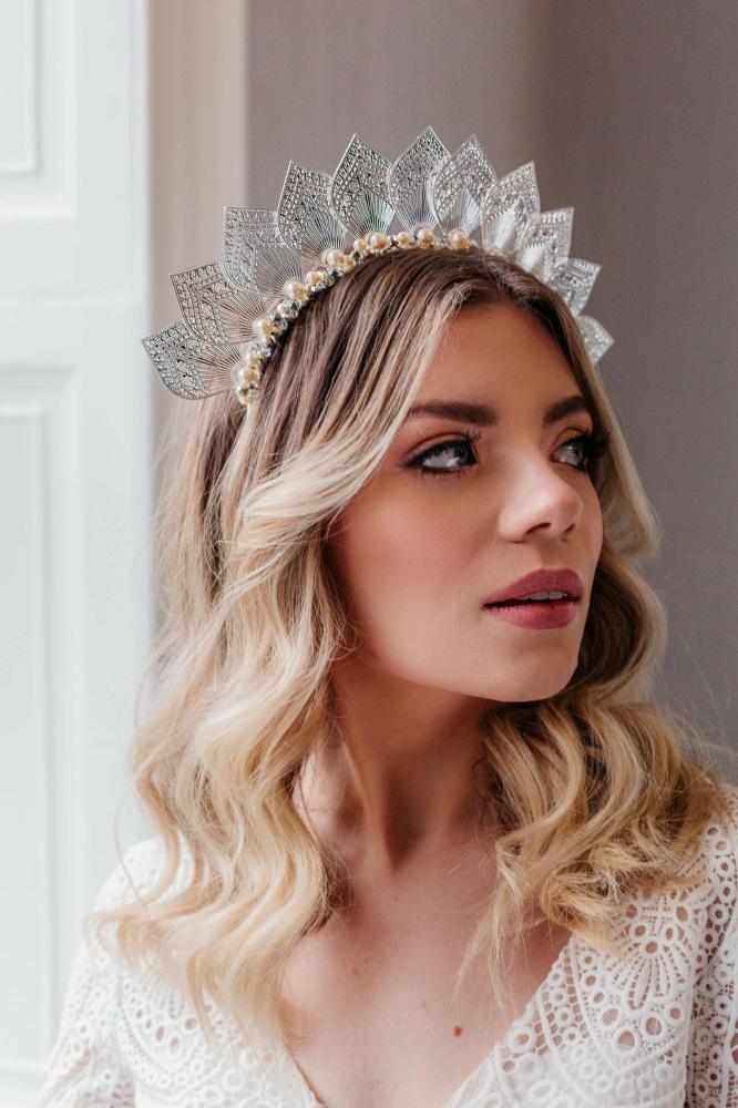 Bridal Halo-wedding-Festival-Bride-Unique-Crown-Halo-statement-hair-piece-leaf-boho-bohemian-silver (11)