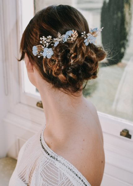 Bespoke Floral Hair Pins from The Bobby Pin, Photography by Littles and Loves Photography