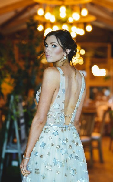 Orion Gown by Willowby by Watters. Image by Little's and Loves Photography