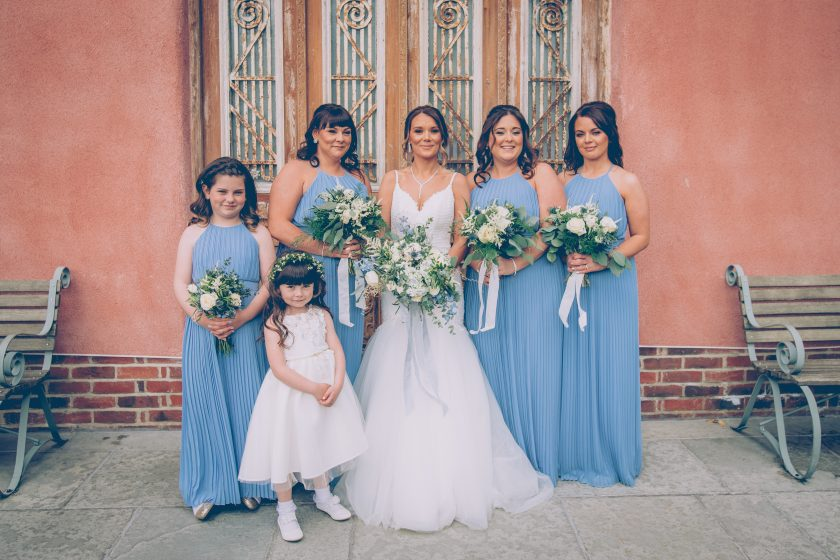 Bridesmaids' Dresses from TFNC London, Image by Dan Clark Photography