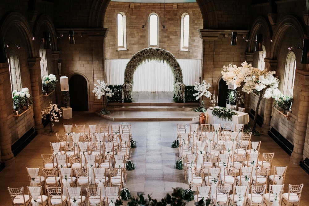 Green-Gold-Elegance-Wedding-at-Sneaton-Castle-1
