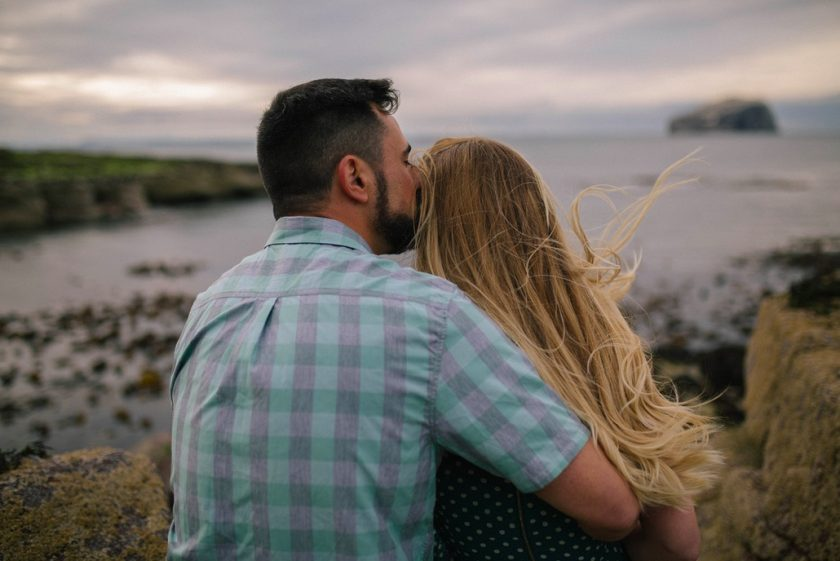 Engagement Shoot In Scotland
