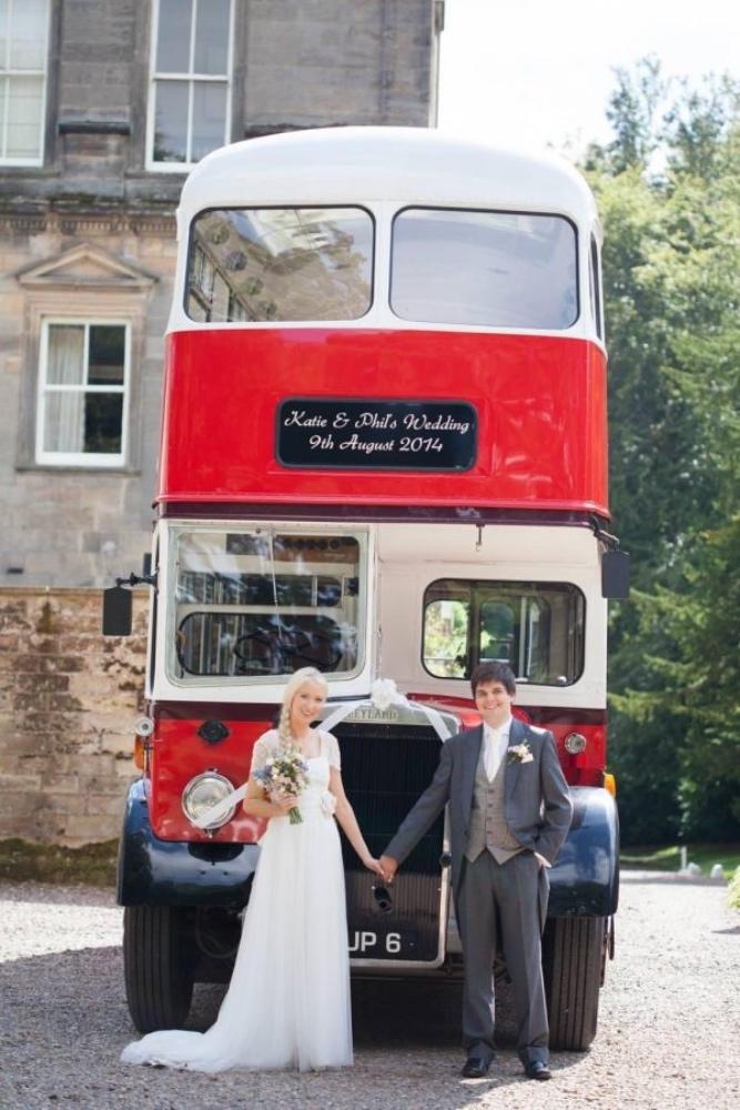 Weardale Vintage Buses - Belle Bridal Magazine Supplier Guest List