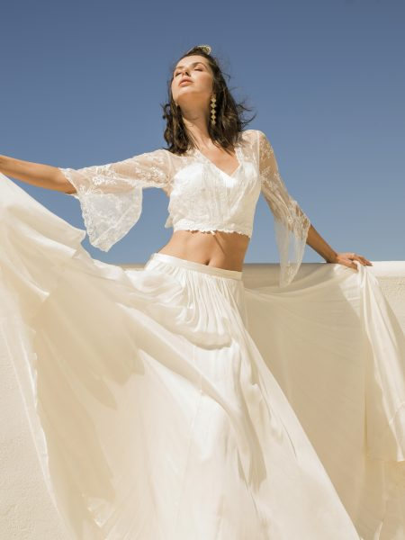 Catherine Deane Muse Top and Anika Skirt. Image by Lee Sculion
