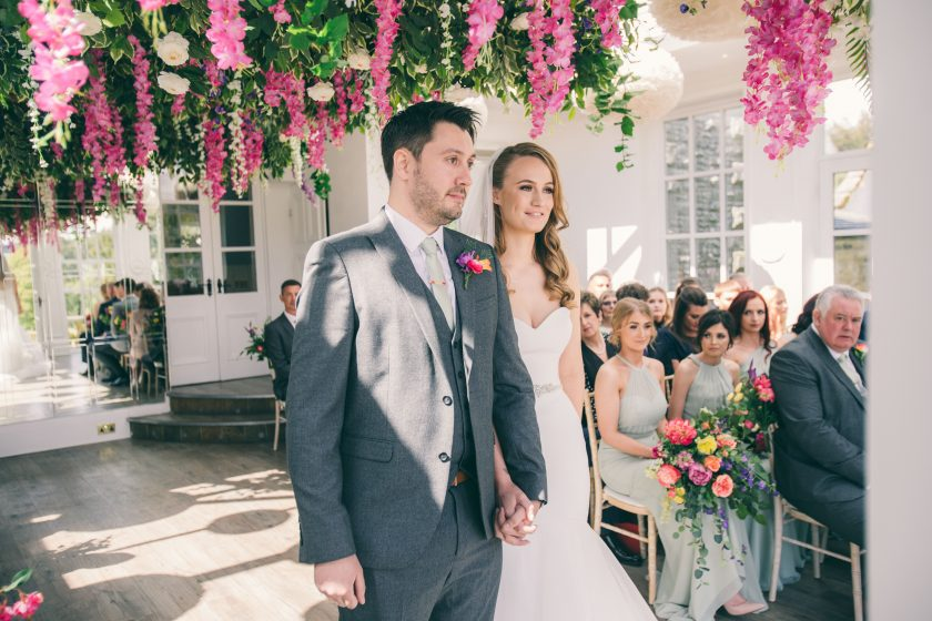 The Bride and Groom, Image by Dan Clark Photography