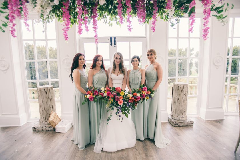 Bridesmaids Gowns from JJ's House, Image by Dan Clark Photography