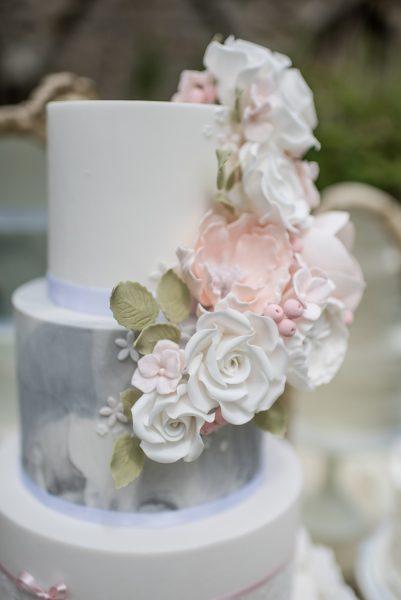 White On White Bridal Shoot At Jervelaux Abbey