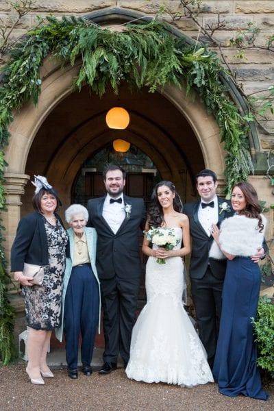 Jesmond Dene House Real Wedding Rebecca Steven