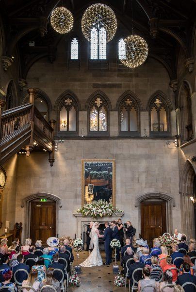 Wedding Ceremony at Matfen Hall