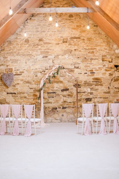 Lough House Farm Ceremony Space, Image by Joss Guest Photography