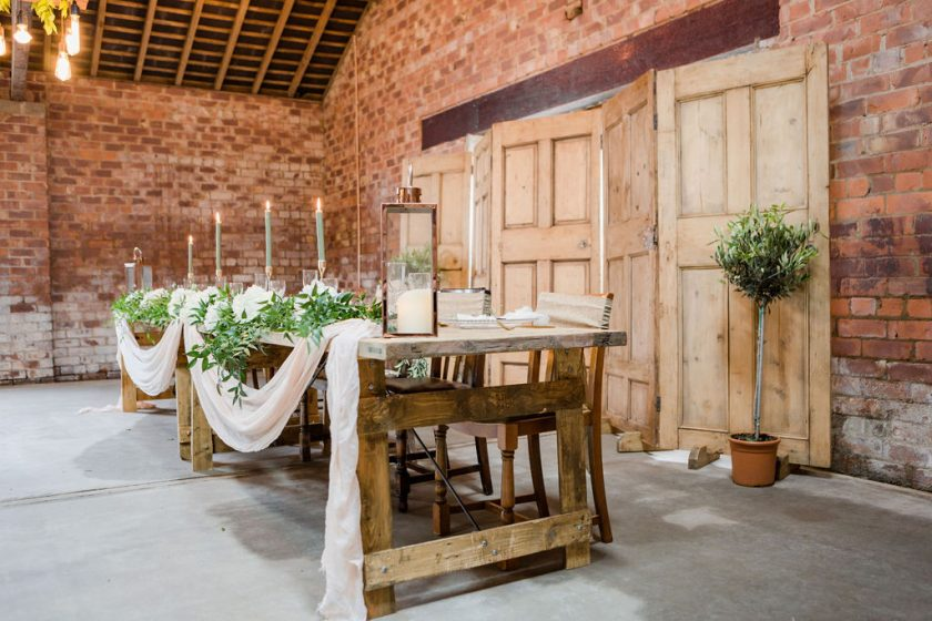 Lough House Farm Table Settings, Image by Joss Guest Photography