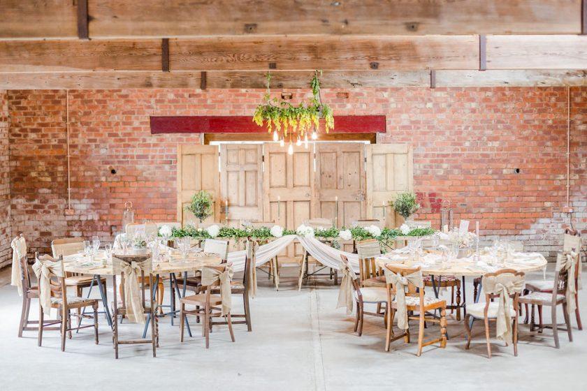 Lough House Farm Reception Space, Joss Guest Photography