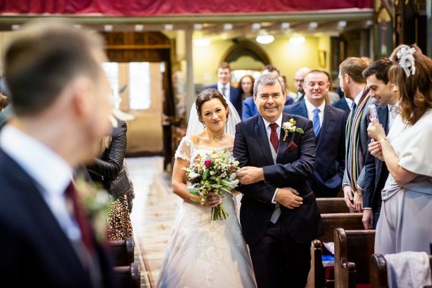 Tithe Barn Real Wedding Chris Laura