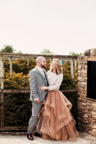 The Bride and Groom, Photographed by Camilla Lucinda Phtoography