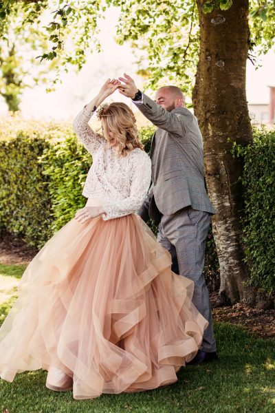 The Bride's Dress from Etsy, Photographed by Camilla Lucinda Photographer