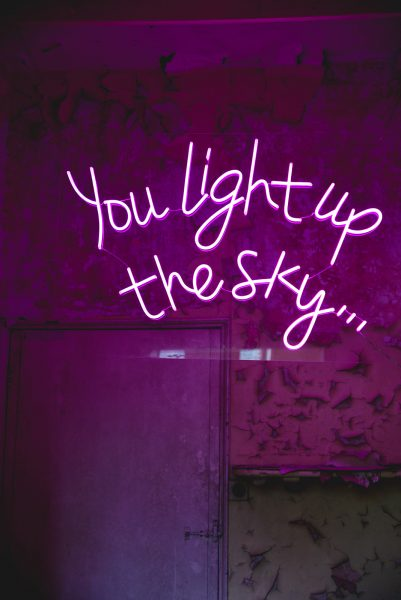 Neon Lights by Love Lights the Way. Image by Fran from Little's and Loves Photography