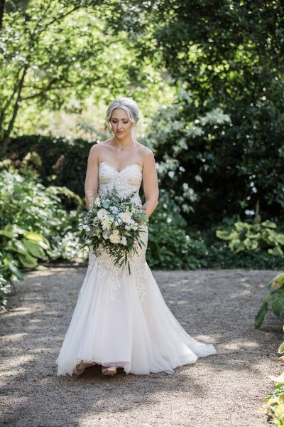 Mori Lee Bridal Gown, Image by Lee Scullion Photography