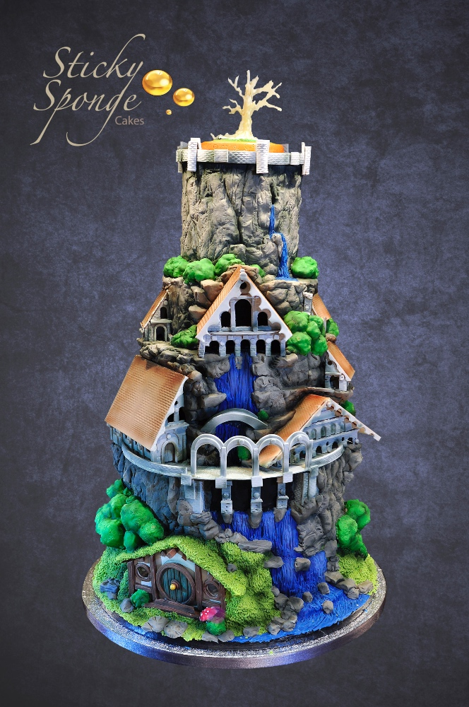 Lord of the Rings Wedding cake 1 2