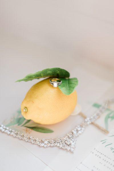 Maryam Engagement Ring, Image by Emily Hannah Photography