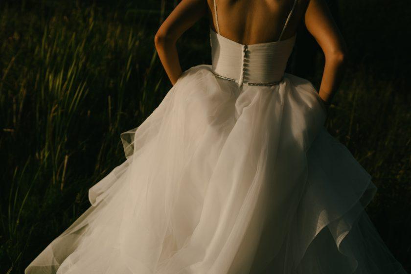 Anna Sorano gown. Image by Dan McCourt