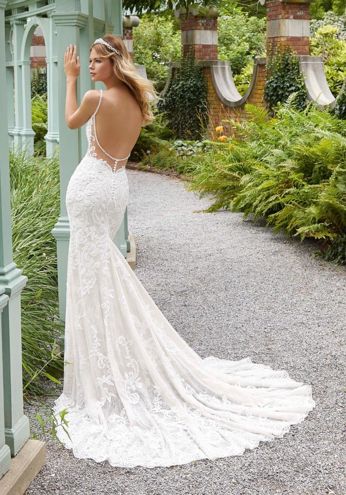 Mori Lee Perdita Bridal Dress style 2033 b