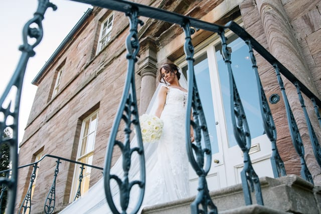 Newton Hall Real Wedding Donna Jordan