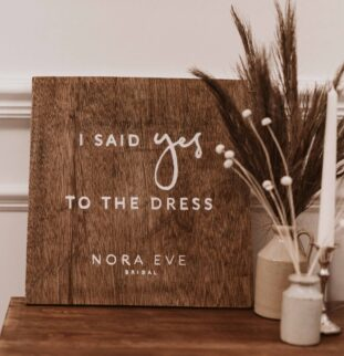 What to expect from your appointment at award-winning Chesterfield boutique Nora Eve Bridal