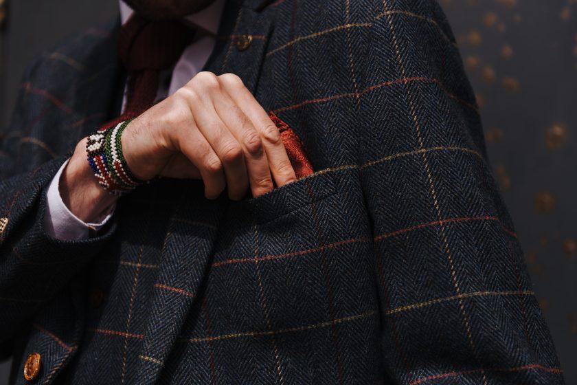 Owen wearing Master Debonair. Image by GASP Photography