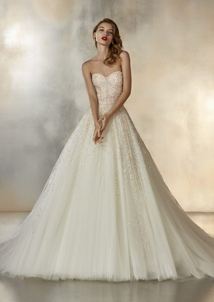 POETESS, Gown by Atelier Pronovias