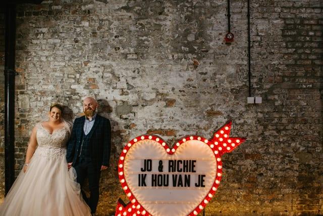 Boiler Shop Real Wedding Richie Jo
