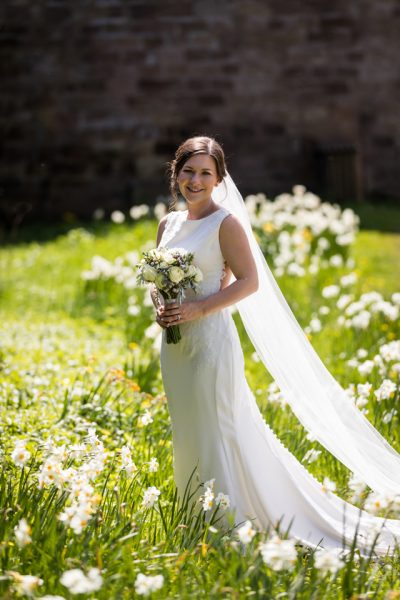 Ripley Castle Real Wedding Danielle Benjamin