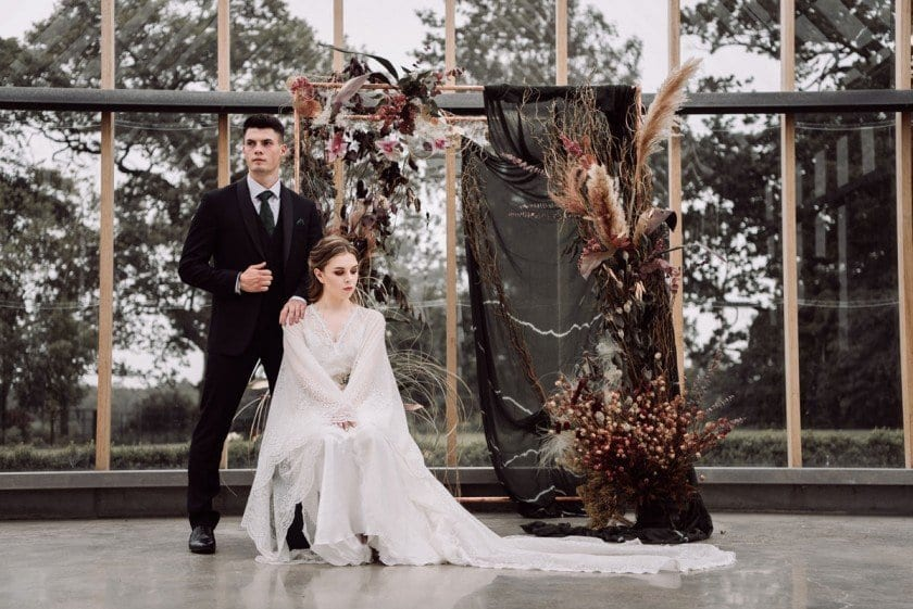 The Bride and Groom, Photgraphed by Emma Ryan Photography