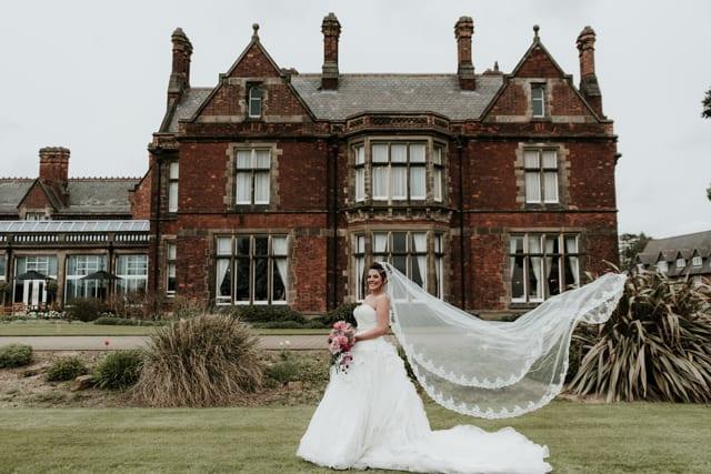 Rockliffe Hall Real Wedding Rochelle Ben