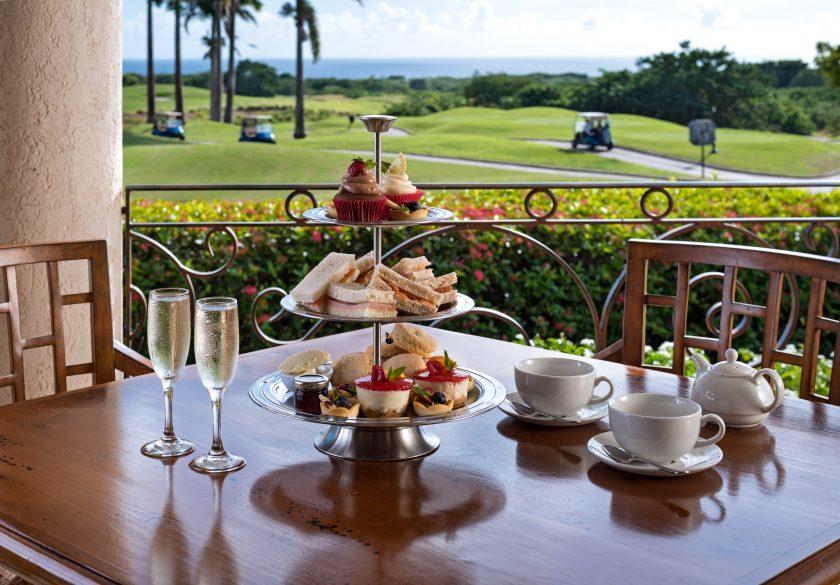 Royal Westmoreland Barbados Nov-2019 Clubhouse tea setting