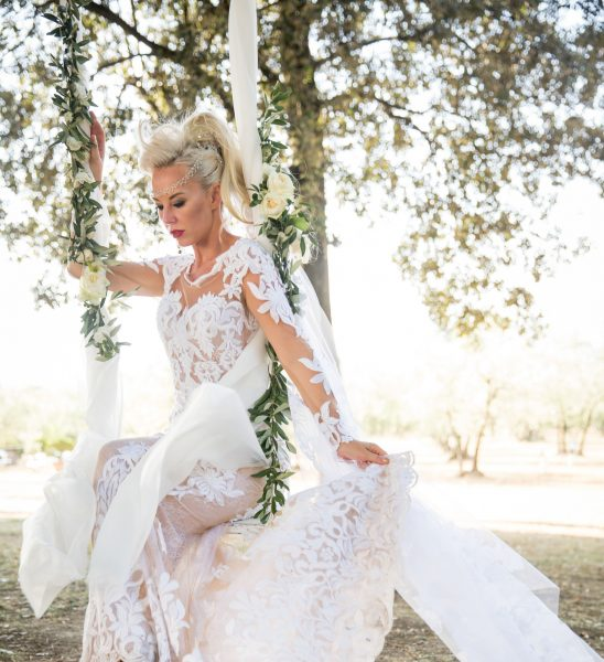Korrine Spock in a Riki Dalal Gown from Si Bridal, Image by Scott Spock Photography