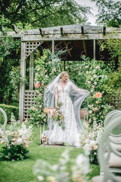 Maften Hall Dutch Gardens. Image by Sean Elliott