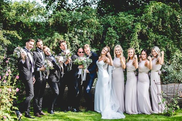Newton Hall Real Wedding Christina David