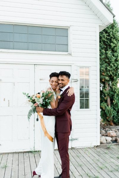 Modern Elopement With Some Serious Style