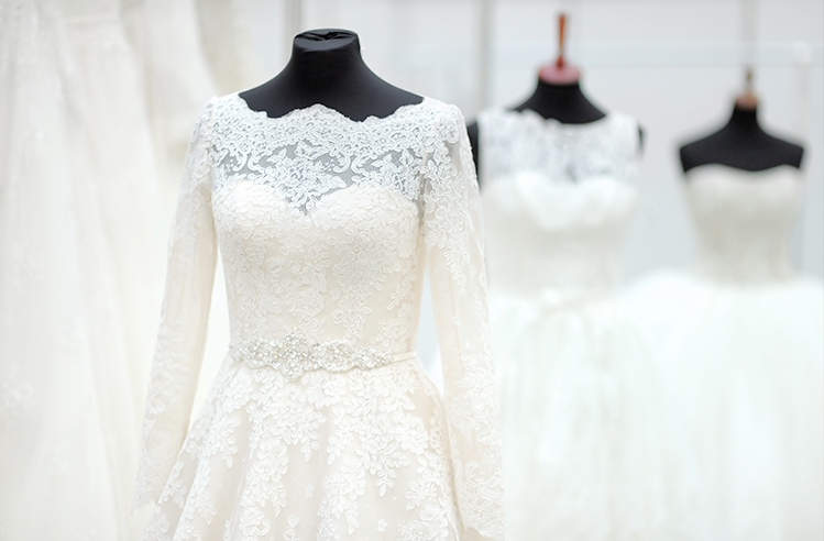 Wedding Gowns at Wedding Show