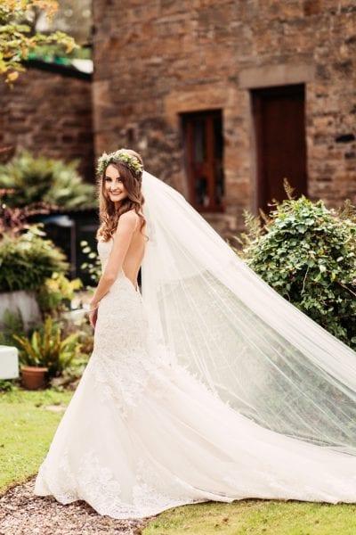 The Halston Real Wedding Louise Mark