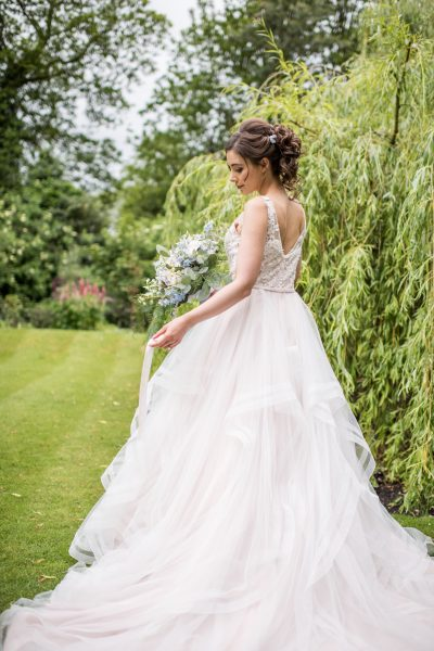 Gown by Romantica of Devon, Photography by Jane Beadnell photography