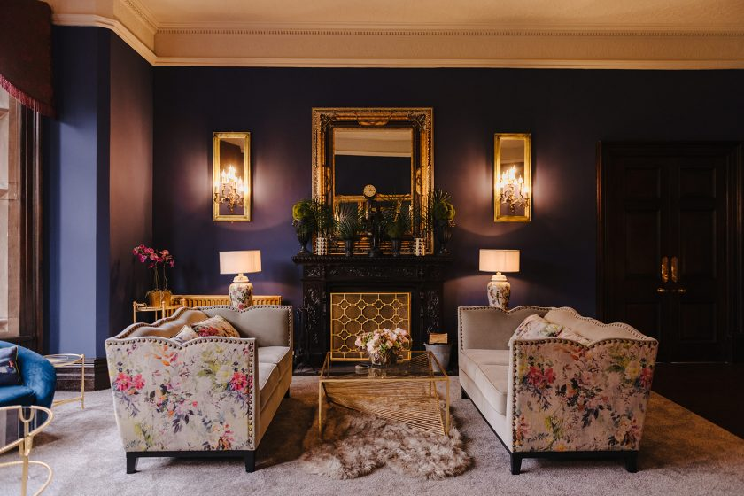 The Blue Room at Ellingham Hall, Image by GASP Photography