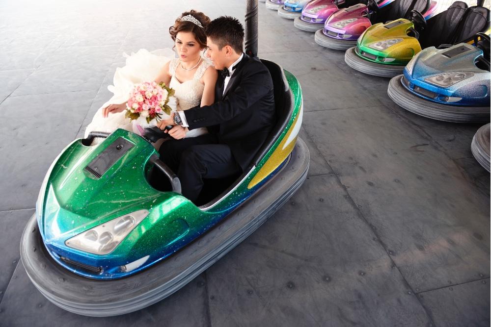 Wedding Dodgems